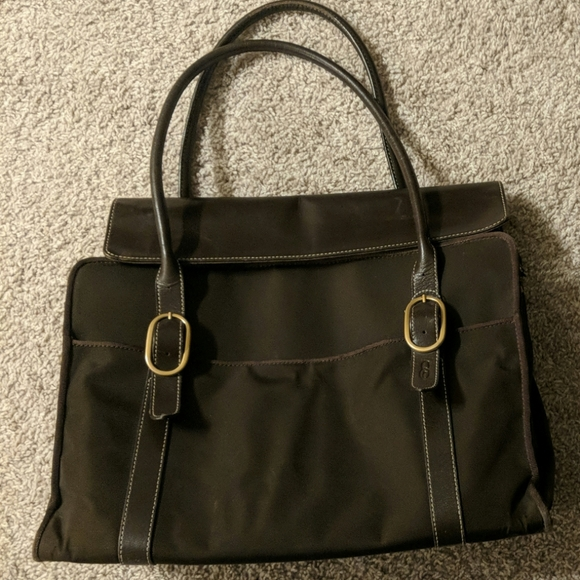 coakley Handbags - Coakley canvas bag briefcase used